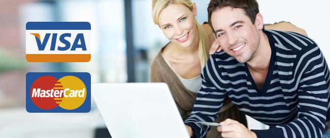 Оплата покупок кредитной картой